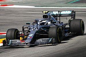 西班牙大奖赛FP2:博塔斯以0.04秒力压汉密尔顿居首