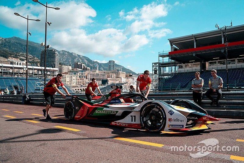 Audi na czele w Monako