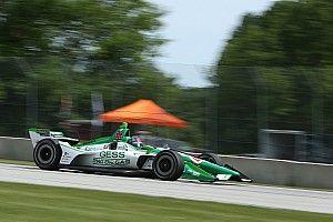 Херта отобрал поул у Росси в квалификации IndyCar на «Роуд-Америка»