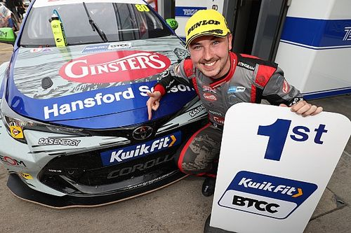 Donington BTCC: Ingram takes first win in new Toyota