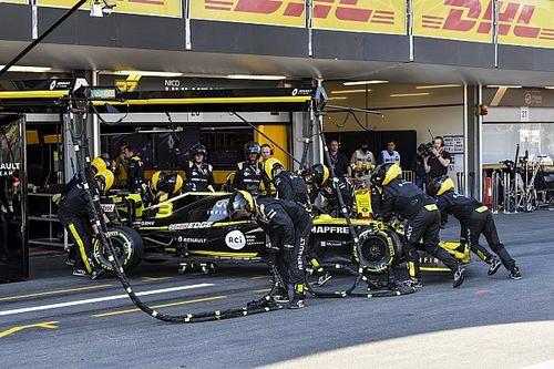 """Ricciardo, """"destrozado"""" porque su """"error tonto"""" arruinó la carrera de Renault"""