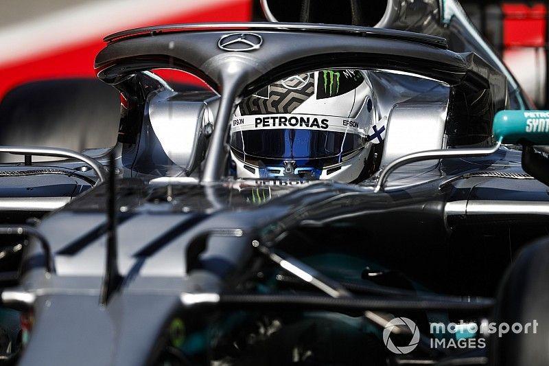 Bottas veruit snelste op eerste testdag Barcelona, crash Ilott