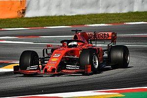 Test Barcellona, Day 1: Vettel gira per la Pirelli, Leclerc per scoprire i guai Ferrari