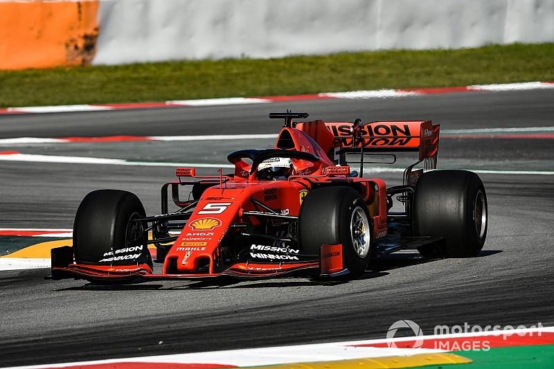 Test Barcellona, Giorno 1: Vettel gira per la Pirelli, Leclerc per scoprire i guai Ferrari