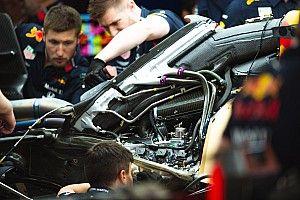 Pérez y Verstappen pierden su segundo motor Honda