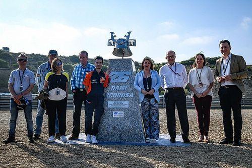 На трассе в Хересе открыли памятник в честь Педросы