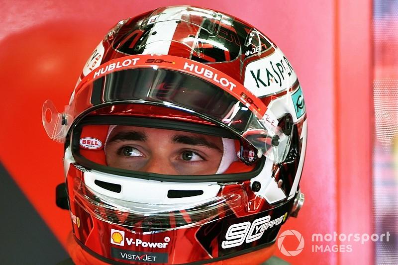 Leclerc a Fiorano con Rovazzi sulla Ferrari triposto