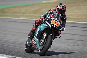 Barcelona MotoGP: Quartararo beats Marquez in warm-up