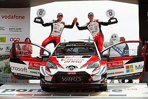 WRC Portugal: Tanak bawa Toyota menang back-to-back