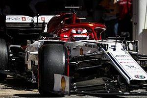 Alfa Romeo a corrigé son aileron avant