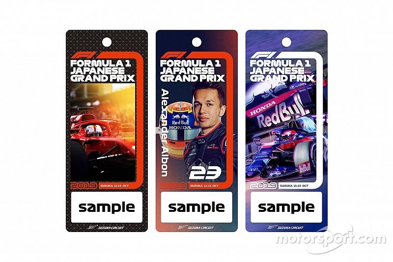 2019年のF1日本GP、5月19日発売のスペシャルチケットは全70種類! デザイン案&リストが公開