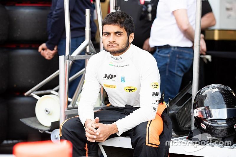 Пилота из Индии на один этап отстранили от участия в Формуле 2