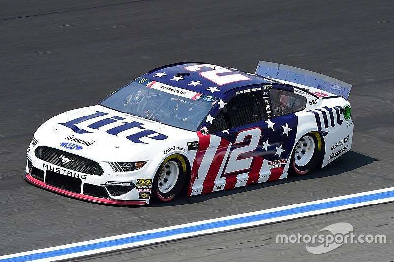 Brad Keselowski takes heart in honoring fallen soldiers