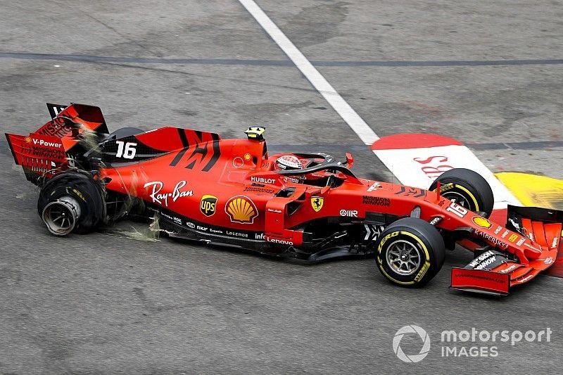 """Hulkenberg: la """"impaciencia"""" de Leclerc mostró su frustración"""