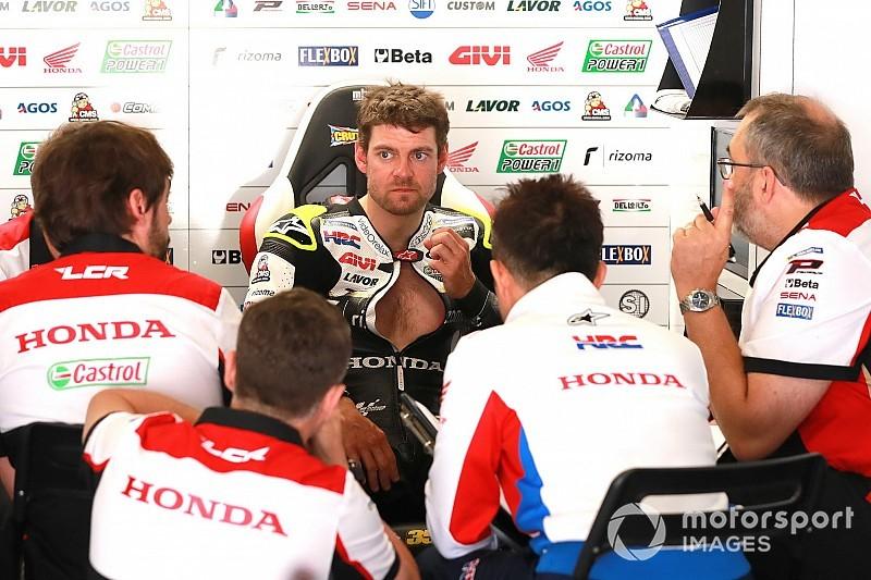 MotoGP: A caminho de casa, Crutchlow cai de bicicleta e sofre fratura