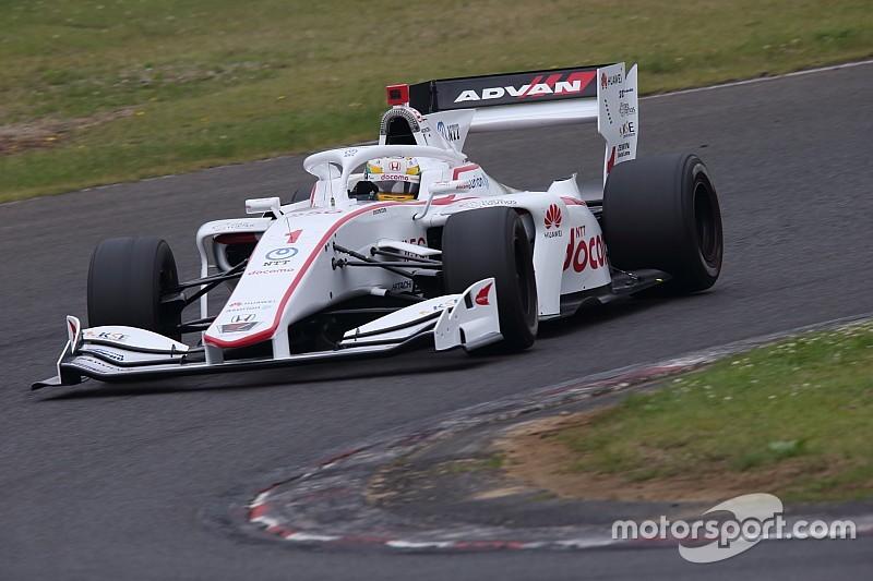 Gran pole de Naoki Yamamoto en Sugo con Palou 8º