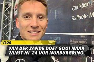 Van der Zande over chaos in training 24 uur van Nürburgring