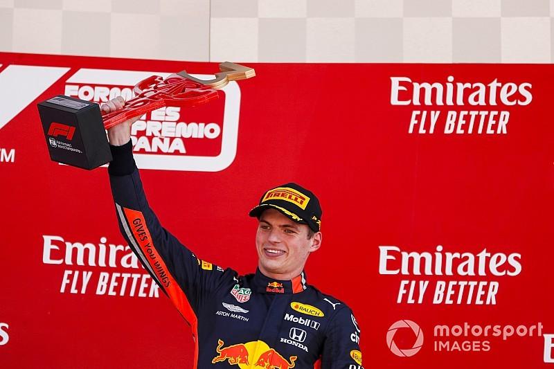 """Horner: """"Red Bull tweede team, fantastische race Verstappen"""""""