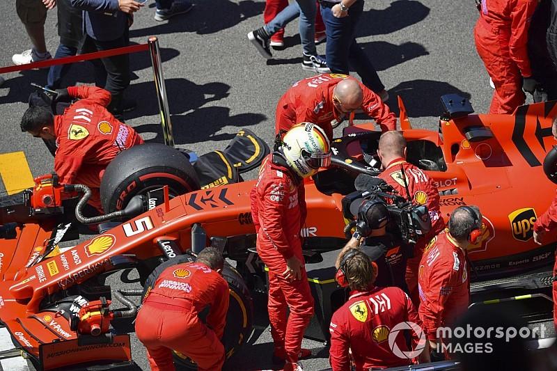 """VÍDEO: Vettel xinga jornalista após GP da Espanha de F1: """"Vai se f..."""""""