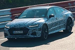 Nuova Audi RS 7 Sportback, la sinfonia del V8 al Nurburgring