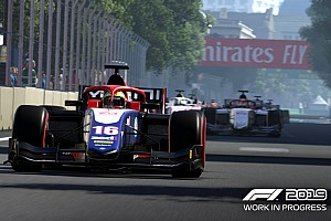 В игру F1 2019 добавили текущий сезон Ф2. И Юбера с Мазепиным