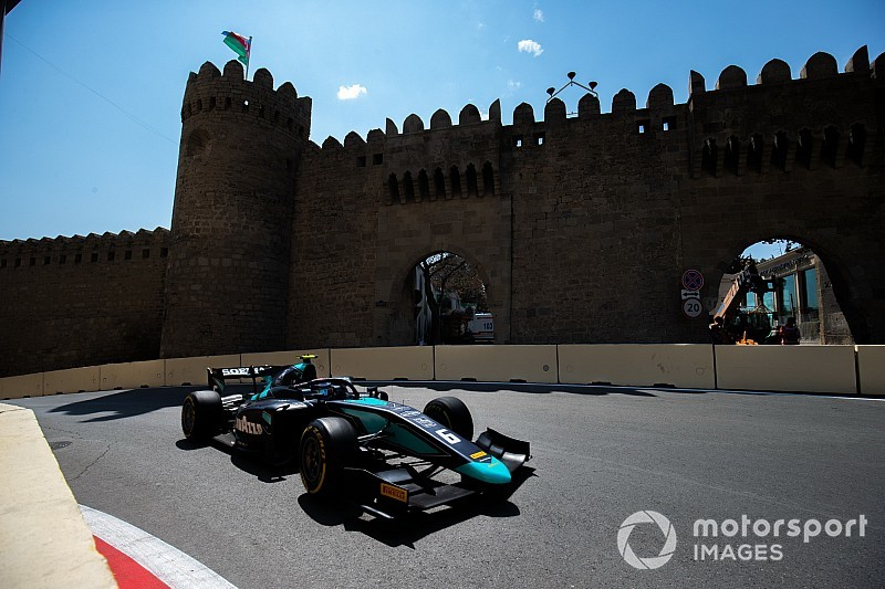 Baku F2: Latifi survives carnage to win Race 2