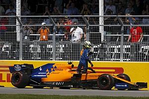 McLaren: Superaquecimento causou quebra da suspensão de Norris