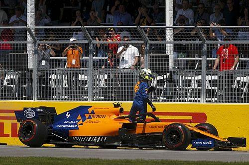 Od przegrzewających się hamulców po zawieszenie, czyli McLaren tłumaczy awarię z Kanady