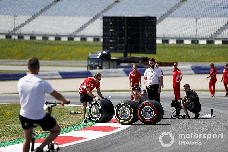 La F1 evaluará volver a los neumáticos de 2018