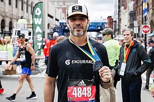 "Johnson: Boston Marathon ""most challenging thing I've ever done"""