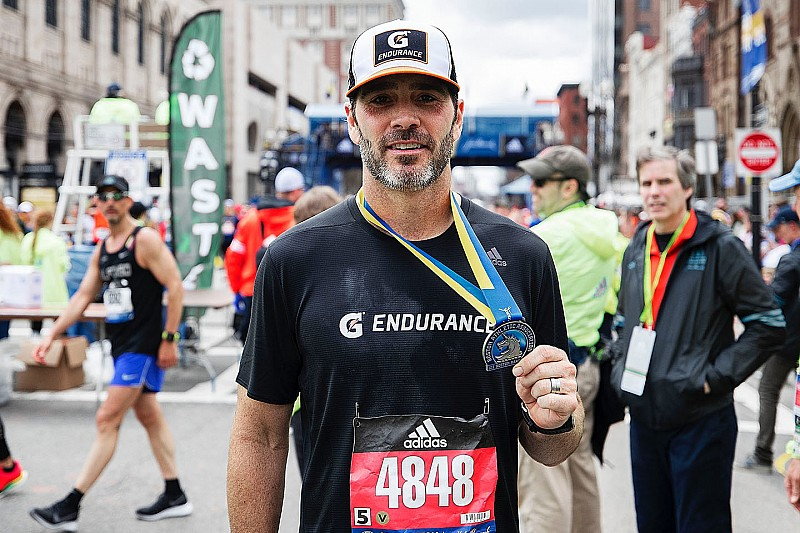 "Johnson: Boston Marathon ""most challenging thing I've ever done"""