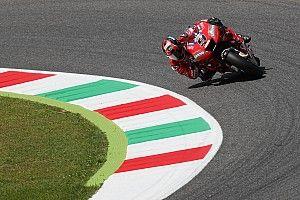 Петруччи на Ducati установил рекорд трассы на третьей тренировке в Муджелло