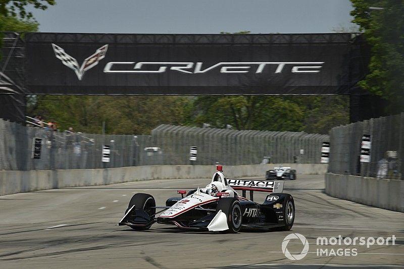 Indy: Newgarden supera Rossi em corrida 1 marcada por chuva em Detroit