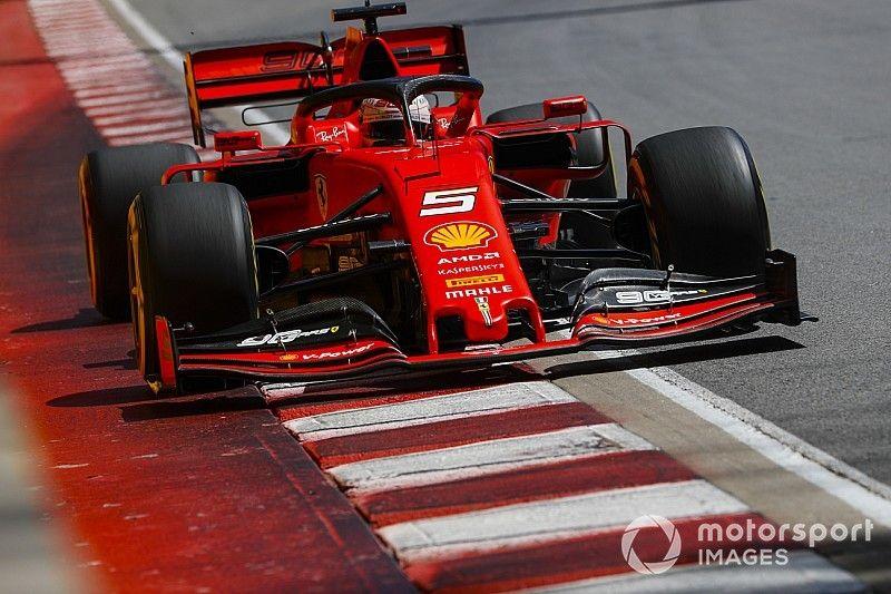 Vettel lidera un 1-2 de Ferrari antes de la clasificación