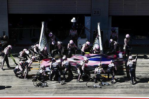 GP d'Autriche - Les arrêts au stand