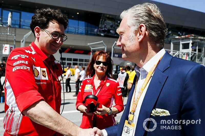 Binotto divide el cargo de director técnico en Ferrari