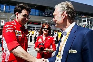 Ferrari: Binotto ridistribuisce il ruolo di direttore tecnico