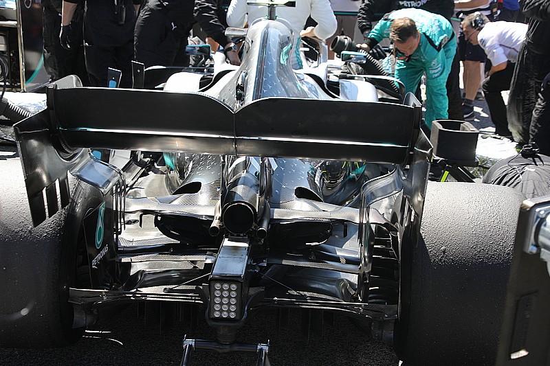 Mercedes: con oltre 30 gradi la power unit Phase 2 si surriscalda e va in crisi