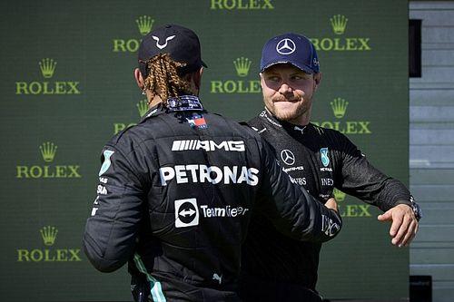 Bottas aceptará órdenes para apoyar a Hamilton en la F1 2021