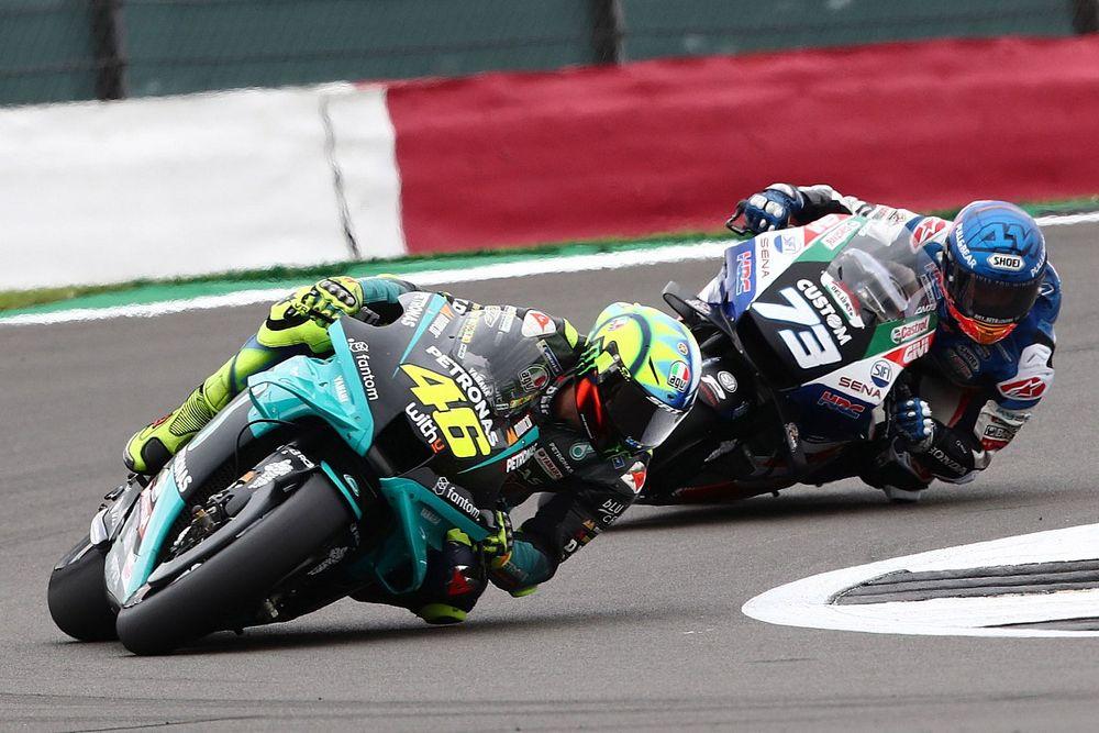 """Rossi """"très triste"""" d'avoir été ralenti par un pneu """"brûlé"""""""
