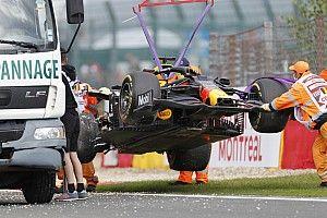 Belgian GP: Verstappen goes quickest, crashes in FP2