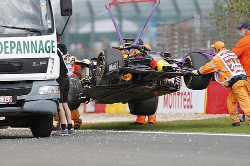 Las fotos del extraño viernes de la F1 en Bélgica