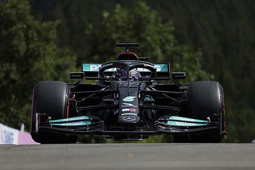 """Hamilton : La Mercedes """"ne faisait pas corps avec moi aujourd'hui"""""""