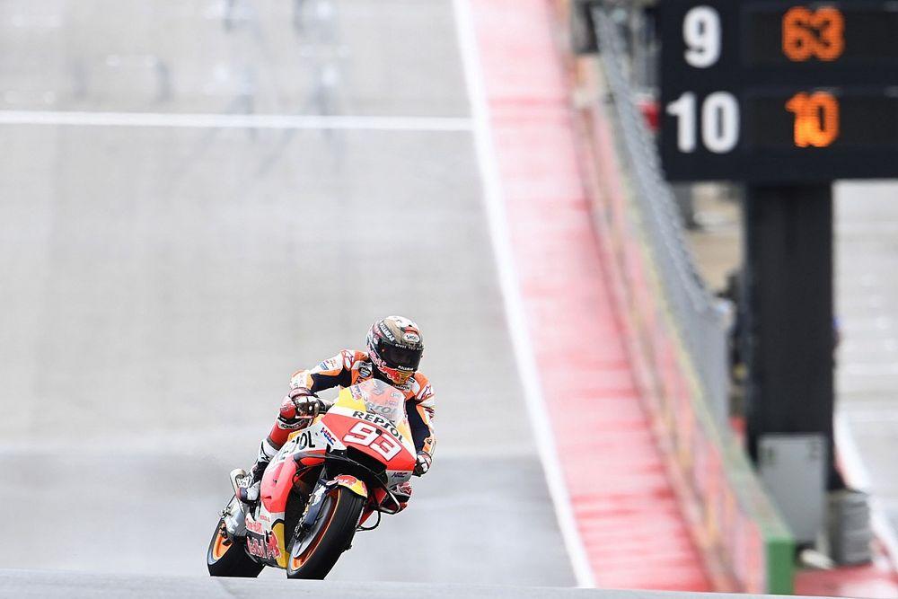 Márquez lidera la primera práctica en el regreso de MotoGP a Austin