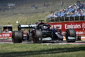 """Hamilton """"optimista"""" a Mercedes esélyeit illetően a forró szabadedzések után is"""