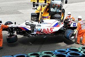 """Steiner en a assez des crashs """"trop fréquents et trop lourds"""" des Haas"""
