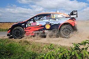 Две Hyundai лидируют в Ралли Бельгия по итогам субботы