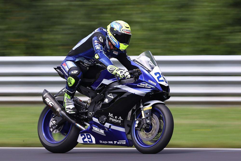 Kecelakaan di WSSP Prancis, Luca Bernardi Dibekap Cedera Punggung