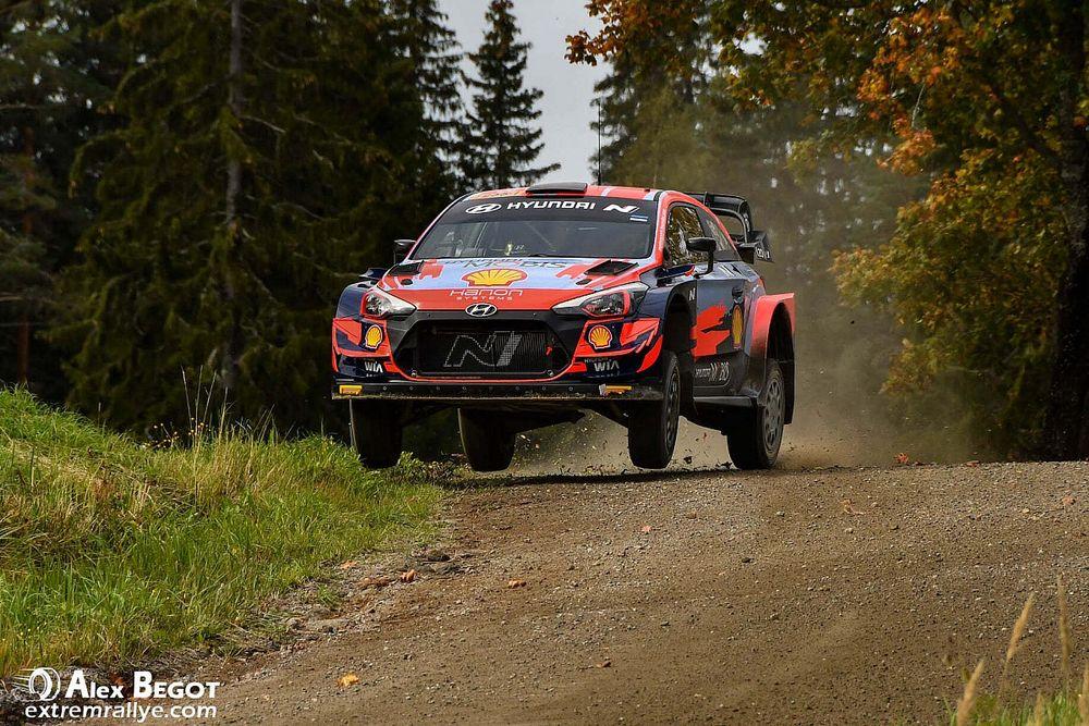 WRC, Rally Finlandia, Shakedown: 1-2 Hyundai con Tanak e Breen