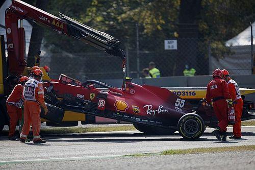 """Sainz bezorgt monteurs overuren: """"Zal niet snel weer gebeuren"""""""